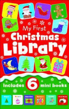 My First Christmas Library 6-In-1 by Various