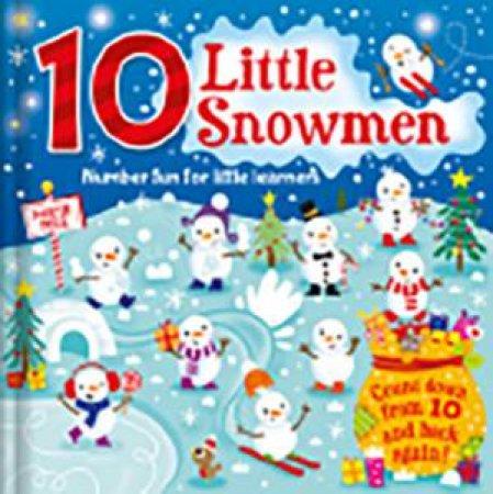 10 Little Snowmen by Igloo Books