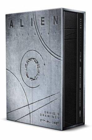 Alien Covenant David's Drawings by Dane Hallett & Matt Hatton