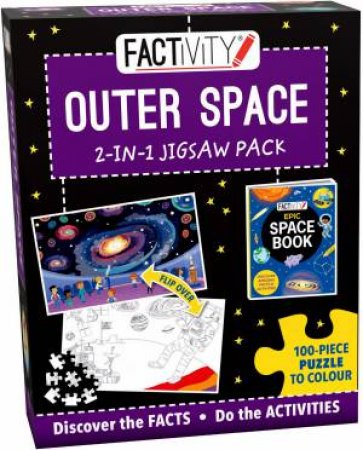 Factivity 2-In-1 Jigsaw Pack: Outer Space by Various