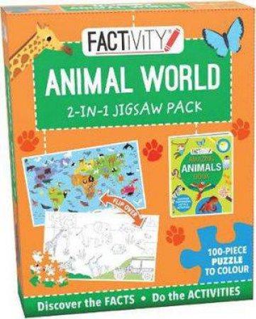 Factivity 2-in-1 Jigsaw Pack: Animal World