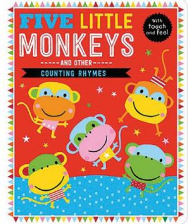 Five Little Monkeys And Other Counting Rhymes by Various