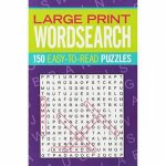 Large Print Wordsearch by Various