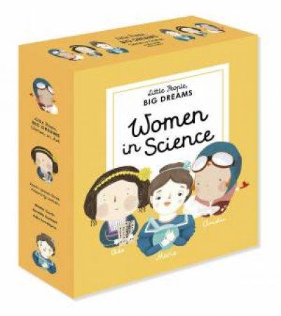 A Little People, Big Dreams Boxed Set: Women In Science by Isabel Sanchez Vegara