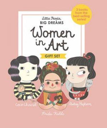 A Little People, Big Dreams Boxed Set: Women In Art