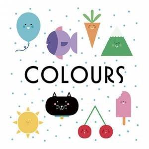 First Concept Bath Book: Colours
