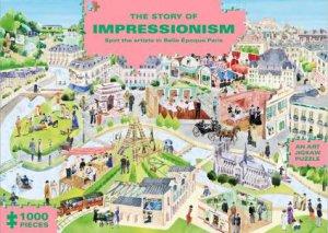 1000 Piece Jigsaw: The Story Of Impressionism