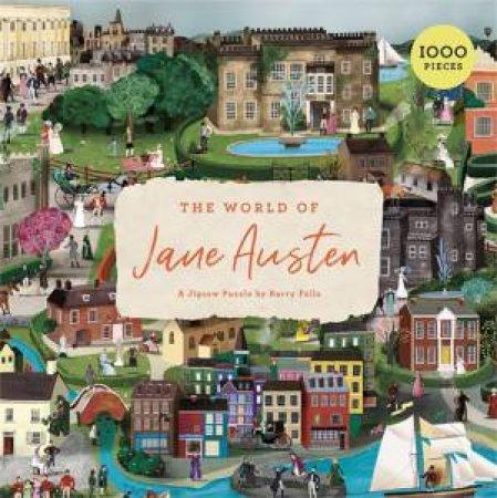 The World Of Jane Austen by Barry Falls & John Mullan