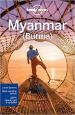 Lonely Planet Myanmar Burma 13th Ed