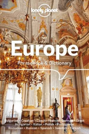 Lonely Planet Europe Phrasebook & Dictionary 6th Ed
