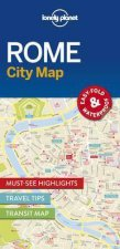 Lonely Planet City Map Rome