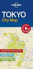 Lonely Planet City Map Tokyo