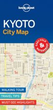 Lonely Planet Kyoto City Map