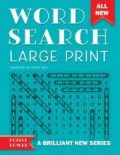 Word Search Large Print by Various