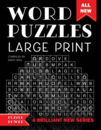 Word Puzzles Large Print by Various