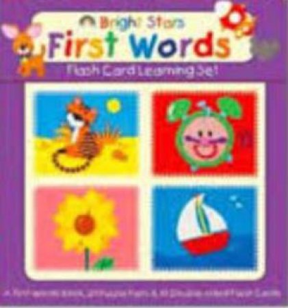 Flash Card Learning Set: First Words