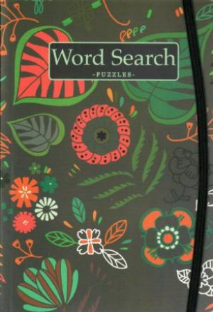 Botanical Puzzle: Word Search Grey by Various