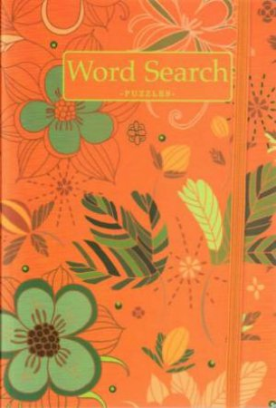 Botanical Puzzle: Word Search Orange by Various