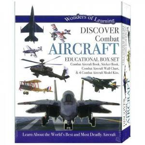Wonders Of Learning: Discover Combat Aircraft (Educational Box Set) by Various