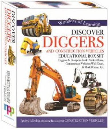 Wonders Of Learning: Discover Diggers And Construction Vehicles (Educational Box Set)