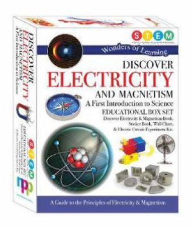 Wonders Of Learning: Discover Electricity & Magnets (Educational Box Set) by Various