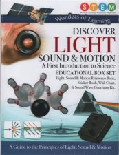Wonders Of Learning Discover Light Sound Motion Educational Box Set