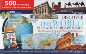 Wonders Of Learning 500 Piece Puzzle: Discover The World