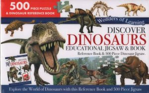 Wonders Of Learning 500 Piece Puzzle: Discover Dinosaurs
