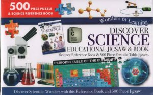 Wonders Of Learning 500 Piece Puzzle: Discover Science