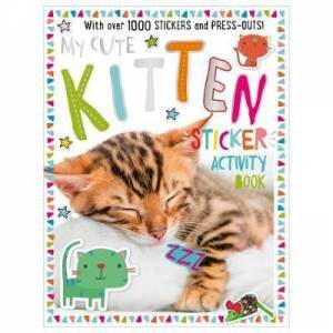 My Cute Kitten Sticker Activity by Various