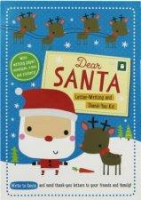 Dear Santa LetterWriting and Thank You Kit