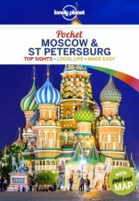 Lonely Planet Pocket Moscow  St Petersburg 1st Ed