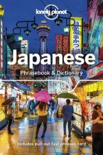 Japanese Lonely Planet Phrasebook  Dictionary