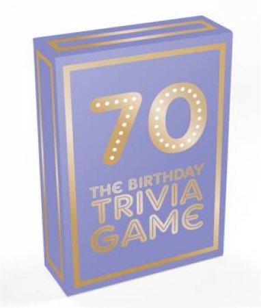 70: The Birthday Trivia Game