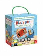 Bizzy Bear Book And Blocks Set