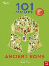 British Museum 101 Stickers Ancient Rome