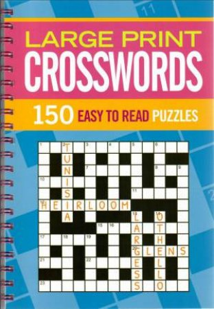 Super Wire-O: Large Print Crosswords