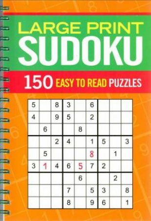 Super Wire-O: Large Print Sudoku