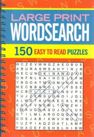 Super Wire-O: Large Print Wordsearch