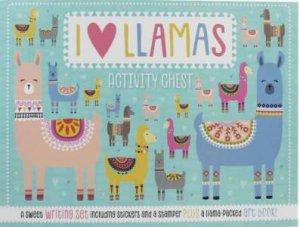 I Love Llamas Activity Chest by Various