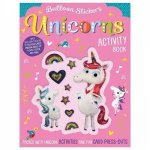 Balloon Sticker Activity Book Unicorns