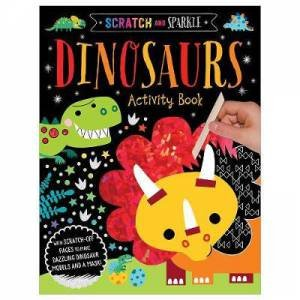 Scratch And Sparkle Dinosaurs Activity Book