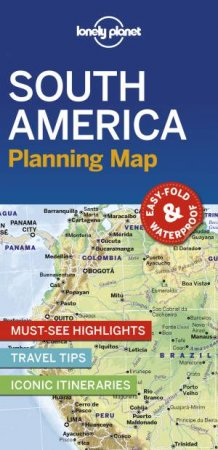 Lonely Planet South America Planning Map