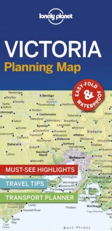 Lonely Planet Victoria Planning Map
