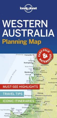 Lonely Planet Western Australia Planning Map