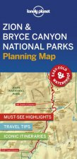 Lonely Planet Zion  Bryce Canyon National Parks Planning Map