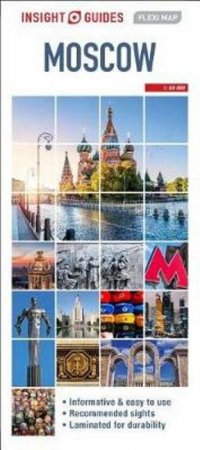 Insight Flexi Map: Moscow (4th Ed)
