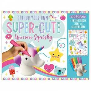 Unicorns Colouring Squishy Boxset by Various