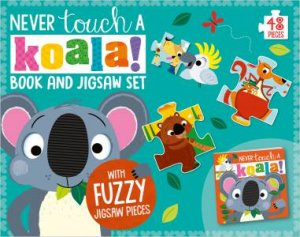 Never Touch a Koala! Book And Jigsaw Set by Various
