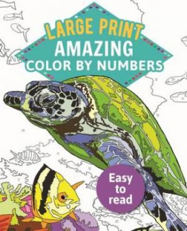 Amazing Color-By-Numbers Large Print by Various